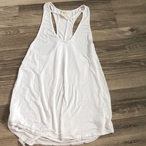 White free people tank top